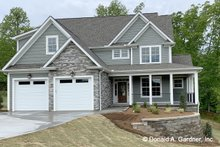 House Plan Design - Cottage Exterior - Front Elevation Plan #929-1108