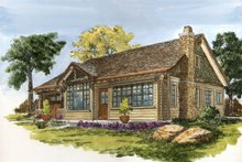 Home Plan - Cabin Exterior - Front Elevation Plan #942-59
