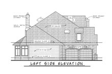 Home Plan - European Exterior - Other Elevation Plan #20-2047