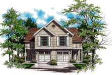 House Plan Design - Traditional Exterior - Front Elevation Plan #48-153