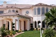 Mediterranean Style House Plan - 6 Beds 6.5 Baths 7572 Sq/Ft Plan #1-940 Photo