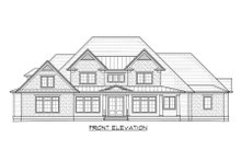 House Design - Country Exterior - Front Elevation Plan #1054-95