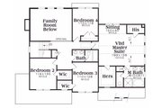 Traditional Style House Plan - 4 Beds 2.5 Baths 2633 Sq/Ft Plan #419-159