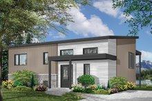 Architectural House Design - Modern Exterior - Front Elevation Plan #23-2674
