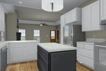Dream House Plan - Craftsman Interior - Kitchen Plan #44-234