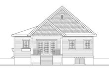 Home Plan - Country Exterior - Rear Elevation Plan #23-2613