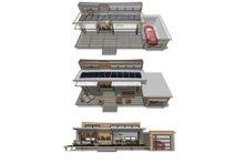 Modern Floor Plan - Other Floor Plan Plan #484-4