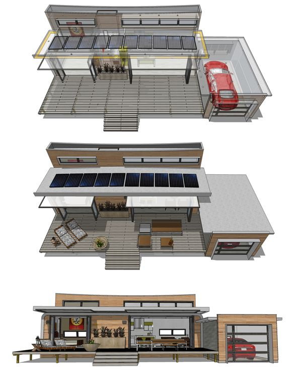 Modern Floor Plan - Other Floor Plan Plan #484-4
