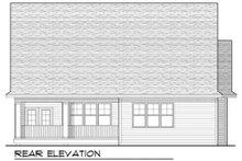 Craftsman Exterior - Rear Elevation Plan #70-912