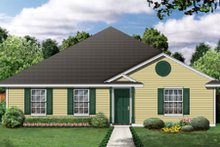 Home Plan - Ranch Exterior - Front Elevation Plan #84-473