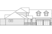 House Plan Design - Traditional Exterior - Other Elevation Plan #124-849