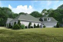 Dream House Plan - European Exterior - Rear Elevation Plan #923-136