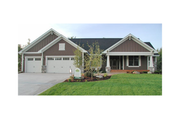 Craftsman Style House Plan - 2 Beds 2 Baths 2311 Sq/Ft Plan #51-355 Exterior - Front Elevation