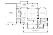 Farmhouse Style House Plan - 4 Beds 3.5 Baths 2993 Sq/Ft Plan #927-988 Floor Plan - Main Floor Plan