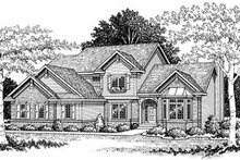 Traditional Exterior - Front Elevation Plan #70-385