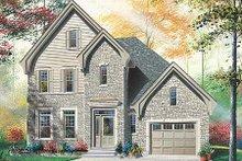 House Plan Design - European Exterior - Front Elevation Plan #23-356