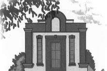 Cottage Exterior - Front Elevation Plan #23-466