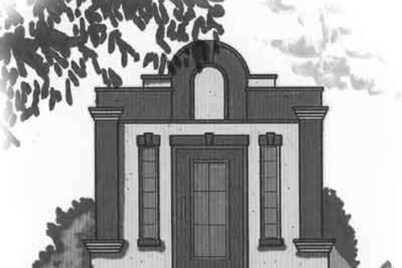 House Plan Design - Cottage Exterior - Front Elevation Plan #23-466