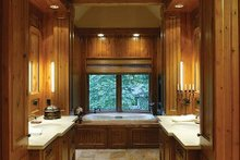 Craftsman Interior - Master Bathroom Plan #48-233