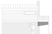 Contemporary Exterior - Rear Elevation Plan #932-296