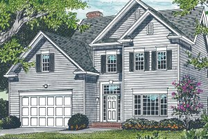 Traditional Exterior - Front Elevation Plan #453-75