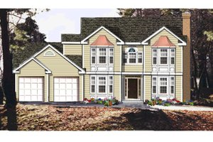 Traditional Exterior - Front Elevation Plan #3-332