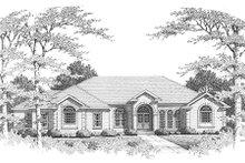 Home Plan - European Exterior - Front Elevation Plan #10-111