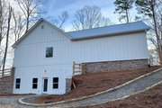 Farmhouse Style House Plan - 3 Beds 3.5 Baths 2741 Sq/Ft Plan #437-97 Exterior - Other Elevation