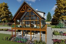 House Plan Design - Country Exterior - Front Elevation Plan #126-235