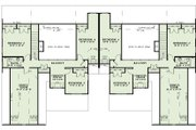 Traditional Style House Plan - 4 Beds 2.5 Baths 2000 Sq/Ft Plan #17-2485 Floor Plan - Upper Floor Plan