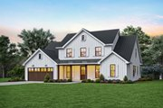 Contemporary Style House Plan - 4 Beds 3.5 Baths 3032 Sq/Ft Plan #48-1003