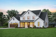 Home Plan - Contemporary Exterior - Front Elevation Plan #48-1003