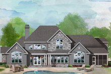 Farmhouse Exterior - Front Elevation Plan #929-1000