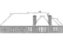 Dream House Plan - European Exterior - Rear Elevation Plan #310-688