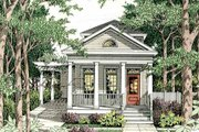 Cottage Style House Plan - 3 Beds 2.5 Baths 1587 Sq/Ft Plan #406-259