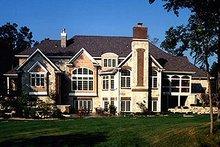 Dream House Plan - European Exterior - Rear Elevation Plan #70-559