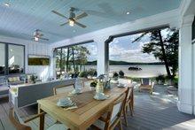 Farmhouse Exterior - Outdoor Living Plan #928-310