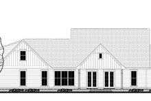 Farmhouse Exterior - Rear Elevation Plan #430-147