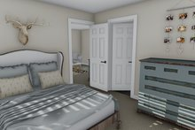 Dream House Plan - Traditional Interior - Bedroom Plan #1060-84