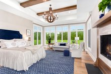 Architectural House Design - Country Interior - Master Bedroom Plan #928-284