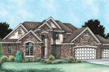 House Design - Traditional Exterior - Front Elevation Plan #20-1773