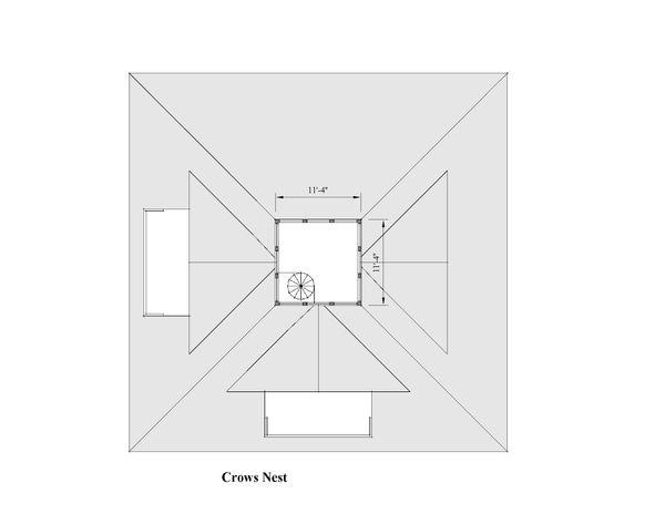 Southern Floor Plan - Other Floor Plan Plan #481-12