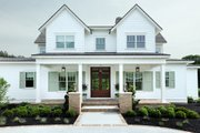 Farmhouse Style House Plan - 3 Beds 3.5 Baths 3177 Sq/Ft Plan #928-309 Exterior - Front Elevation