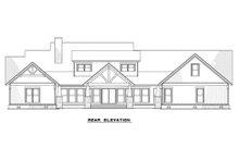 House Plan Design - Craftsman Exterior - Rear Elevation Plan #923-15