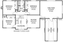 Country Floor Plan - Upper Floor Plan Plan #11-232