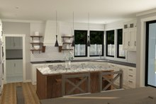 House Plan Design - Farmhouse Interior - Kitchen Plan #1070-39