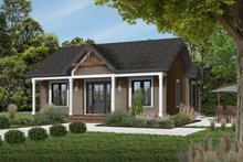 Home Plan - Cottage Exterior - Front Elevation Plan #23-105