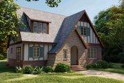 Tudor Style House Plan - 4 Beds 3 Baths 3835 Sq/Ft Plan #1079-3