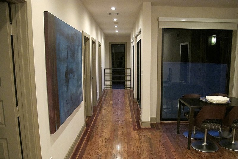 Hall - 2600 square foot Modern home