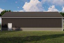 Home Plan - Farmhouse Exterior - Other Elevation Plan #1064-117